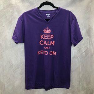 Keep Calm And Keto On Tshirt
